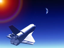 Shuttle In The Sky 68 Royalty Free Stock Photography