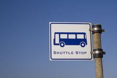 Shuttle Stop Royalty Free Stock Photo