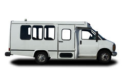 Shuttle Van Stock Image