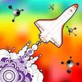 Shuttle vector design Royalty Free Stock Image