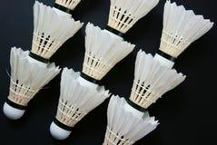 shuttlecock royaltyfria foton