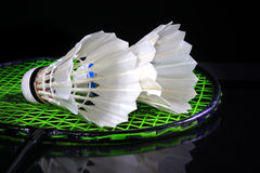 shuttlecock badminton Стоковые Фотографии RF