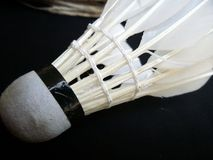 Shuttlecock for badminton Royalty Free Stock Photography