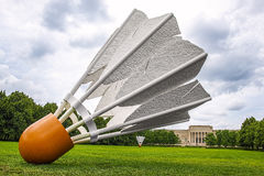 Shuttlecock,badminton Royalty Free Stock Images