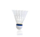 Shuttlecock badmintonboll royaltyfria foton