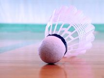 Free Shuttlecock On The Floor Royalty Free Stock Photo - 824685