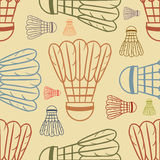 Shuttlecock pattern Background - Sport Royalty Free Stock Image