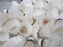 Shuttlecock - Badminton stock images