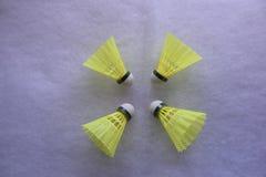Shuttlecocks羽毛球 库存图片