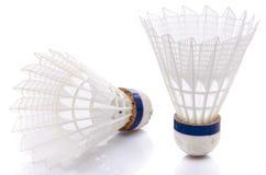 shuttlecocks белые Стоковое фото RF