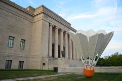 Shuttlecocks at Nelson Atkins Museum Stock Photography
