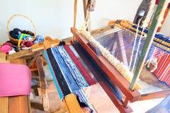 Shuttleless loom Stock Photo