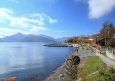 Shuzenji sjö Arkivfoton