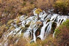 Shuzheng waterfall jiuzhaigou scenic Stock Image