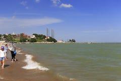 shuzhuanghuayuan庭院沙滩在鼓浪屿上的 免版税库存照片