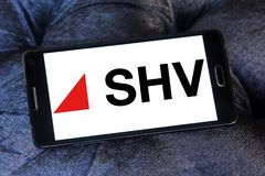 SHV Holdings logo editorial stock photo. Image of food - 116426868