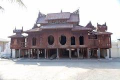 Shwe严Pyay修道院 库存图片