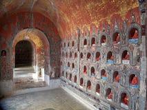 Shwe严Pyay修道院 免版税库存照片