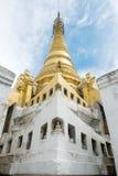 Shwe严Pyay寺庙的塔 图库摄影