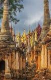 Shwe austerii Thein pagody kompleks obrazy royalty free