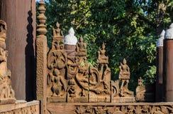 Shwe In Bin Kyaung, Myanmar Royalty Free Stock Photo