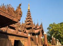 Shwe In Bin Kyaung, Myanmar Royalty Free Stock Photography