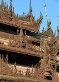 Shwe In Bin Kyaung, Myanmar Stock Photography