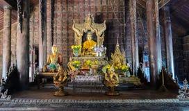 Shwe In Bin Kyaung, Myanmar Stock Photos