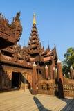 Shwe In Bin Kyaung, Myanmar Royalty Free Stock Image