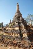 Shwe-Gasthaus-Dain Pagoda-Komplex lizenzfreies stockbild