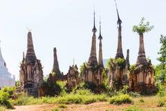 Shwe Inn Dain Pagoda, Inle Lake, Myanmar royalty free stock photography