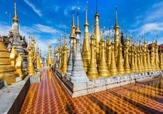 Shwe Inn Dein Pagoda Inle Lake Shan state Myanmar Royalty Free Stock Photo