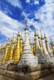 Shwe Inn Tain Pagoda Stock Photo