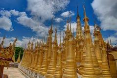 Shwe Inn Thein Paya near Inle Lake Myanmbar Burma Nyaung Shwe royalty free stock images
