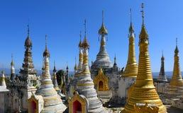 Shwe Inn Thein Paya temple complex in Myanmar Stock Photos