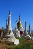 Shwe Inn Thein Paya temple complex in Myanmar Stock Photo