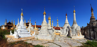 Shwe Inn Thein Paya temple complex in Myanmar Royalty Free Stock Images