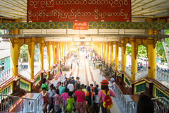 Shwe Maw Daw Pagoda Royalty Free Stock Photos