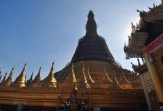 Shwe Maw Daw Pagoda in  Yangon,Myanmar Royalty Free Stock Image