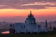 The Shwe Modeptaw Pagoda Royalty Free Stock Photography