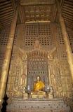 Shwe Nandaw Kyaung Monastery Mandalay Stock Photo
