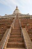 Shwe Sandaw pagoda, Bagan, Myanamar Stock Image