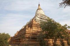 Shwe Sandaw pagoda, Bagan, Myanamar Royalty Free Stock Photography