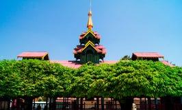 Shwe-Schlund Daw-Pagode Myanmar oder Birma Stockfoto