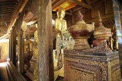 Shwe Yan Pyay Monastery immagine stock libera da diritti