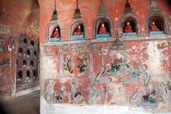 Shwe Yan Pyay Monastery foto de stock