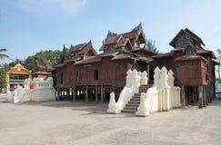 Shwe Yan Pyay Monastery immagini stock libere da diritti