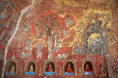 Shwe Yan Pyay Monastery fotos de stock
