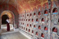 Shwe Yan Pyay Monastery Foto de archivo