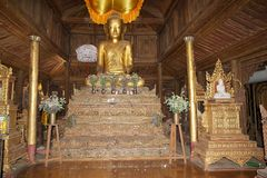 Shwe Yan Pyay Monastery Royalty Free Stock Images